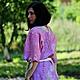 """Блузки ручной работы. Ярмарка Мастеров - ручная работа. Купить Блуза """"Lilac air"""".. Handmade. Сиреневый, блузка нарядная"""