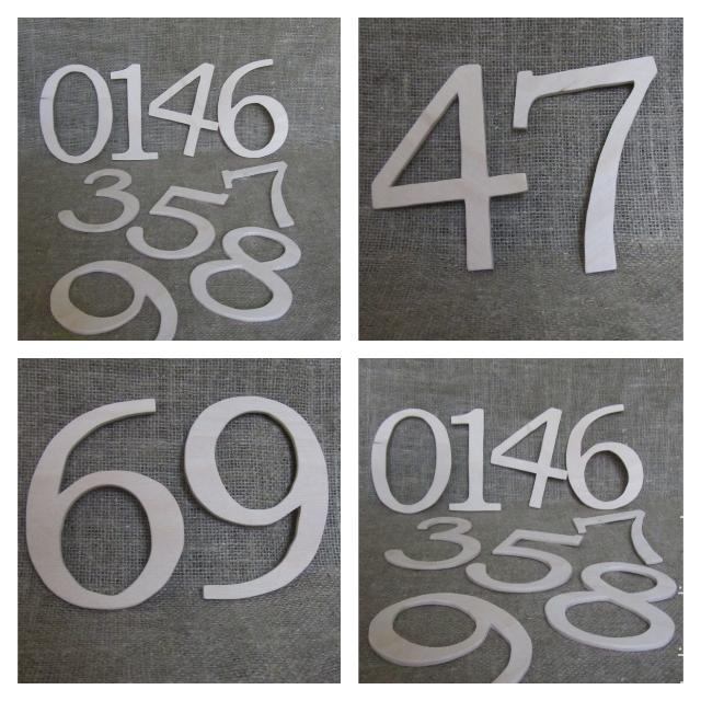Цифры из фанеры своими руками 57