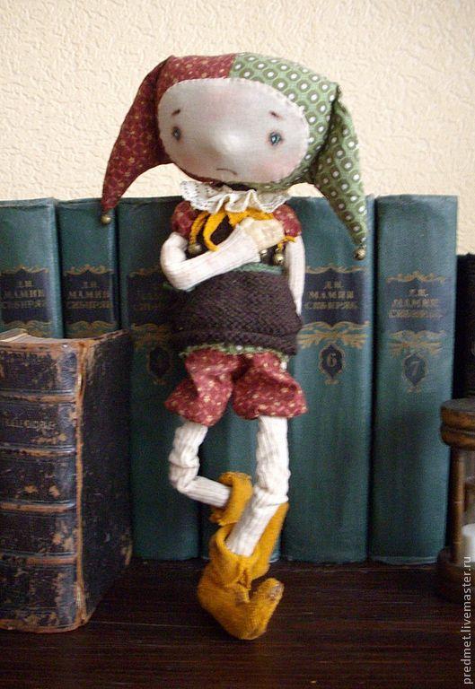 Ароматизированные куклы ручной работы. Ярмарка Мастеров - ручная работа. Купить Шут гороховый. Handmade. Шут, клоун, корица