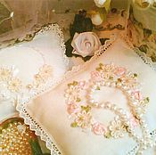 Свадебный салон ручной работы. Ярмарка Мастеров - ручная работа Подушечки для свадебных колец. Handmade.
