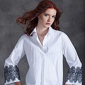 Одежда ручной работы. Ярмарка Мастеров - ручная работа Блузка MILANO Скидка 15% при покупке в паре с любой другой моделью. Handmade.