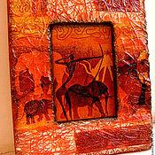 Картины и панно handmade. Livemaster - original item panels Africa. Handmade.