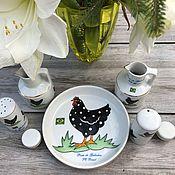 handmade. Livemaster - original item Porcelain table set