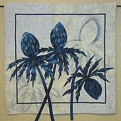 Картины и панно handmade. Livemaster - original item Eryngium. Handmade.