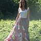 Юбки ручной работы. Юбка-солнце лоскутное шитье. Веленга (Славянский стиль). Ярмарка Мастеров. Любая гамма