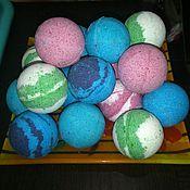 Косметика ручной работы. Ярмарка Мастеров - ручная работа бомбочки для ванны; шипучки; гейзеры. Handmade.