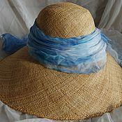 Материалы для творчества ручной работы. Ярмарка Мастеров - ручная работа Заготовка для шляпы из соломки (капелин). Handmade.