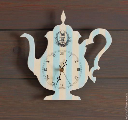"""Часы для дома ручной работы. Ярмарка Мастеров - ручная работа. Купить Часы настенные """"Heureux ensemble"""" - Счастливы вместе""""(фран.). Handmade."""