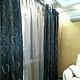 Текстиль, ковры ручной работы. Комплект штор № 25 в гостиную. Дизайн-студия 'Соланж'. Интернет-магазин Ярмарка Мастеров.