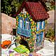 """Кухня ручной работы. Ярмарка Мастеров - ручная работа. Купить Чайный  домик  """"Летний сад"""". Handmade. Разноцветный, чайные пакетики"""