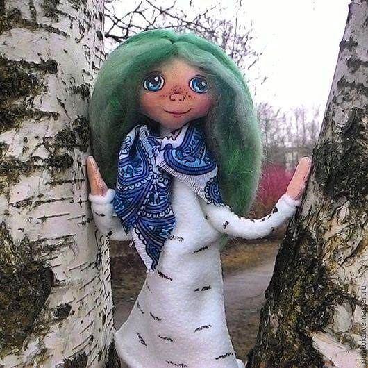 Сказочные персонажи ручной работы. Ярмарка Мастеров - ручная работа. Купить кукла Березка. Handmade. Кукла, текстильная кукла