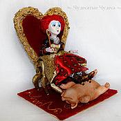 """Куклы и игрушки ручной работы. Ярмарка Мастеров - ручная работа Коллекционная кукла """"Красная Королева"""". Handmade."""