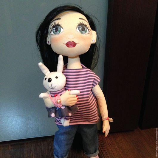 Коллекционные куклы ручной работы. Ярмарка Мастеров - ручная работа. Купить Текстильная кукла. Handmade. Кукла ручной работы, флис