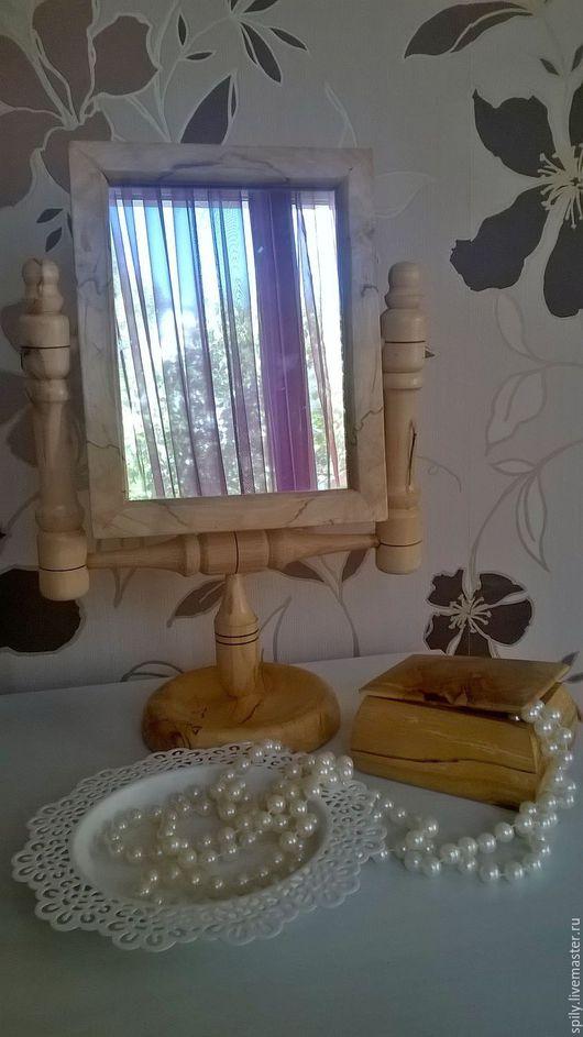 Зеркала ручной работы. Ярмарка Мастеров - ручная работа. Купить зеркало. Handmade. Бежевый, натуральные материалы, дуб, зеркало