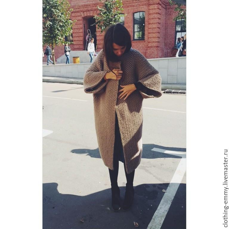 Вязаные Пальто Купить