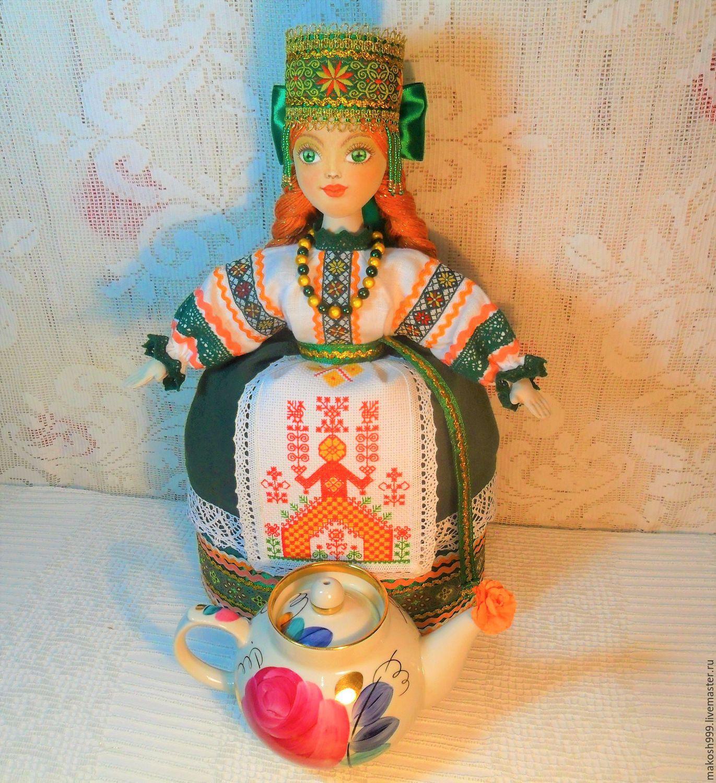 Куклы обереги с вышивкой
