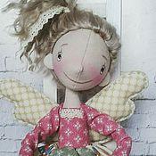 Куклы и игрушки ручной работы. Ярмарка Мастеров - ручная работа Интерьерная текстильная кукла Фейка. Handmade.