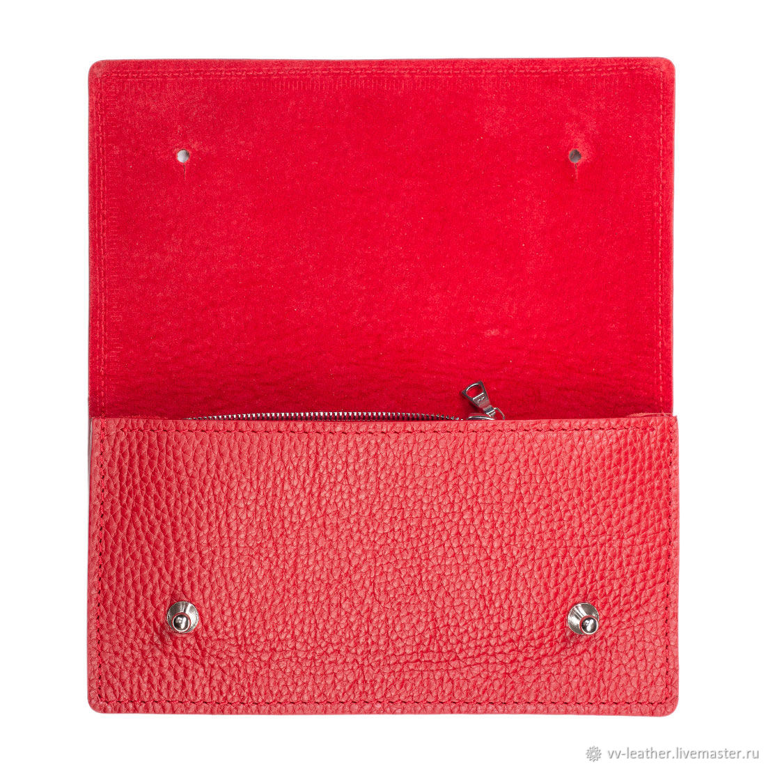 Women's clutch wallet leather, Wallets, Moscow,  Фото №1