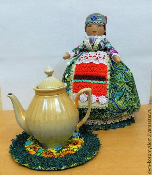 Коллекционные куклы ручной работы. Ярмарка Мастеров - ручная работа. Купить Барыня в русском стиле. Handmade. Разноцветный, кукла интерьерная