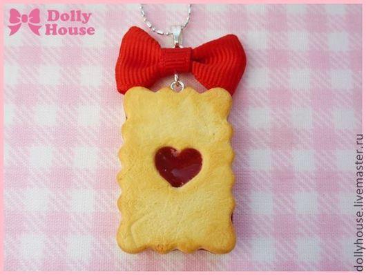 """Колье, бусы ручной работы. Ярмарка Мастеров - ручная работа. Купить Колье """"Wonder Cookie"""". Handmade. Dolly house, spank"""
