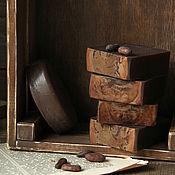"""Косметика ручной работы. Ярмарка Мастеров - ручная работа Мыло с нуля """"Шоколад"""" натуральное. Handmade."""