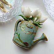 Украшения handmade. Livemaster - original item Brooch Bouquet for the lovely. Handmade.