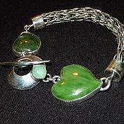 Украшения handmade. Livemaster - original item Boho bracelet silver .. Handmade.