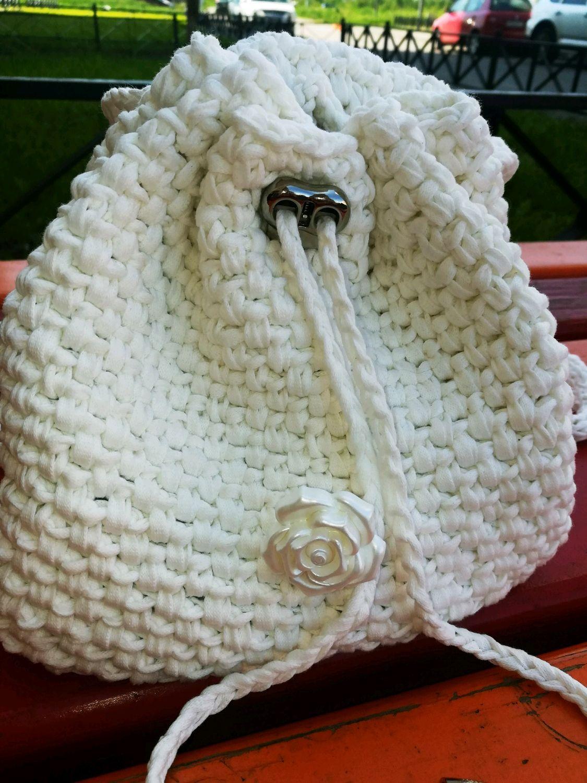 Backpack knitted, Backpacks, St. Petersburg,  Фото №1