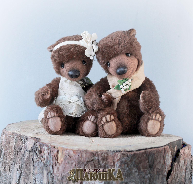 Мишки тедди Прохор и Пелагея, Игрушки, Курган, Фото №1