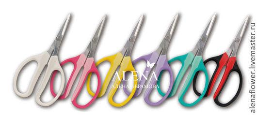 Другие виды рукоделия ручной работы. Ярмарка Мастеров - ручная работа. Купить Ножницы японские. Handmade. Ножницы, все для цветоделия