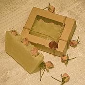 Косметика ручной работы. Ярмарка Мастеров - ручная работа Миндаль и Жасмин мыло с нуля. Handmade.