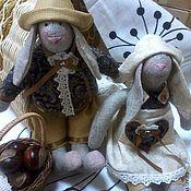Куклы и игрушки ручной работы. Ярмарка Мастеров - ручная работа Семейка Кроликов Тильда. Handmade.