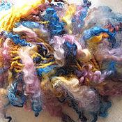 Материалы для творчества ручной работы. Ярмарка Мастеров - ручная работа Арт-пряжа  (art yarn). Handmade.
