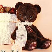 Куклы и игрушки ручной работы. Ярмарка Мастеров - ручная работа мишка Шоколадкин. Handmade.