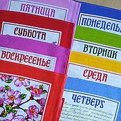 Неделька - подарочный набор полотенец - букет для любимой женщины