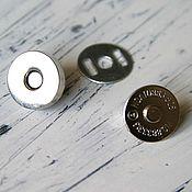 Материалы для творчества ручной работы. Ярмарка Мастеров - ручная работа Магнитная кнопка 14мм. Handmade.