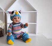 Куклы и игрушки ручной работы. Ярмарка Мастеров - ручная работа Вязанный комплект на куклу.. Handmade.