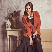 """Одежда ручной работы. Ярмарка Мастеров - ручная работа Кардиган женский вязаный """"Лондон"""". Handmade."""