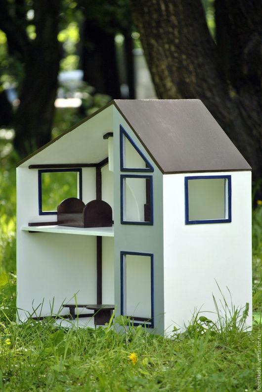 Кукольный дом ручной работы. Ярмарка Мастеров - ручная работа. Купить Домик для куклы. Handmade. Белый, кукольный домик, домик
