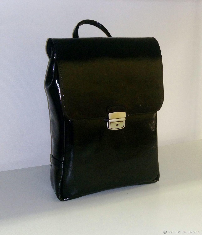 Backpack leather 48, Backpacks, St. Petersburg,  Фото №1
