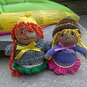 Куклы и игрушки ручной работы. Ярмарка Мастеров - ручная работа радужные пупсы-домовята из капрона. Handmade.