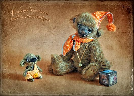 Мишки Тедди ручной работы. Ярмарка Мастеров - ручная работа. Купить ТИМОША-РЫЖИК. Авторский медведь.. Handmade. Мишка тедди
