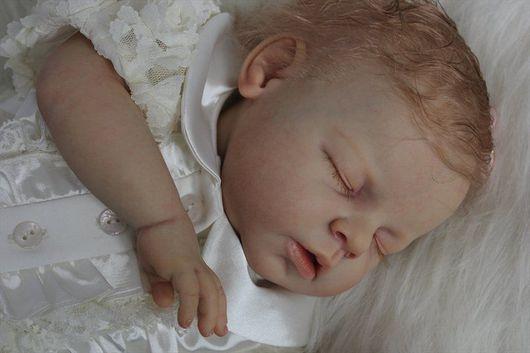 Куклы-младенцы и reborn ручной работы. Ярмарка Мастеров - ручная работа. Купить Малышка Надюша. Handmade. Авторская кукла, мохер