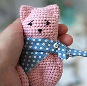 Куклы и игрушки ручной работы. Ярмарка Мастеров - ручная работа Ми-ми-котик. Handmade.