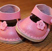 Обувь ручной работы. Ярмарка Мастеров - ручная работа Туфельки с каблучком. Handmade.