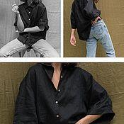 Рубашки ручной работы. Ярмарка Мастеров - ручная работа Рубашки: Рубашка оверсайз. Handmade.