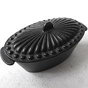 Винтаж handmade. Livemaster - original item Copy of Chest Casket jewelry Box Wedding Kasli Cast iron. Handmade.