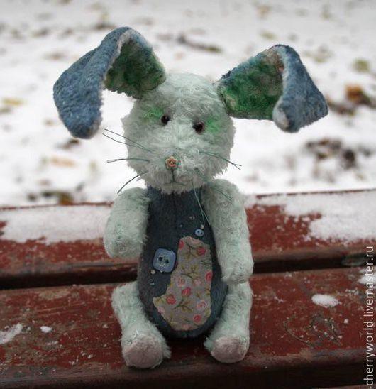 Мишки Тедди ручной работы. Ярмарка Мастеров - ручная работа. Купить Зайка Уюни. Handmade. Авторские мишки Тедди, крольчонок