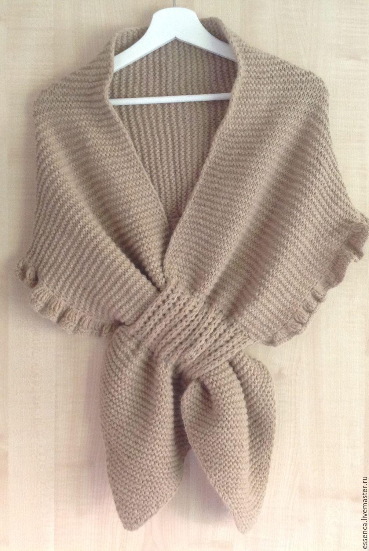 шарф накидка на плечи