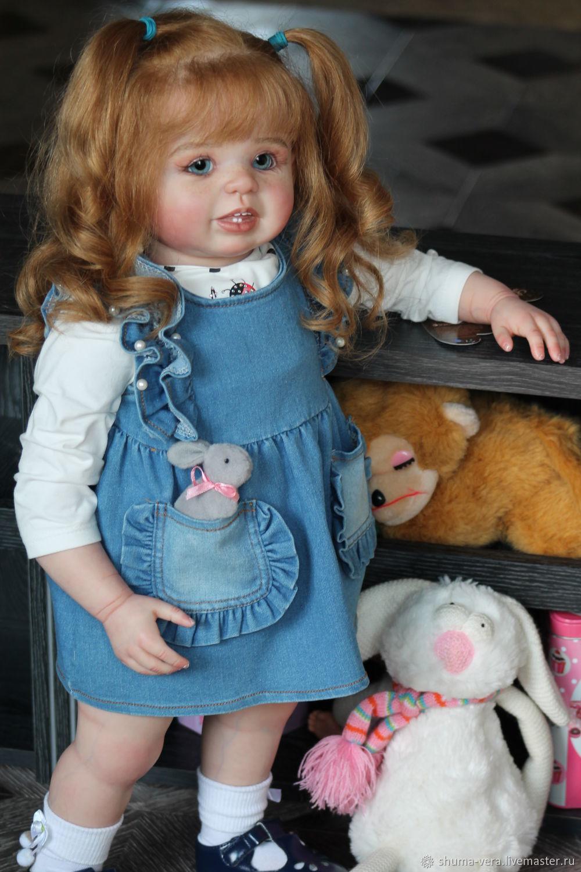 Куклы реборн Мила, Куклы Reborn, Электросталь,  Фото №1